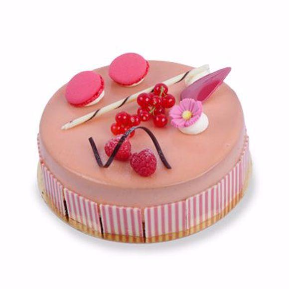 Afbeelding van Pink temptation taart 18 cm