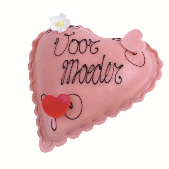 Afbeelding van Moederdag roze hartje