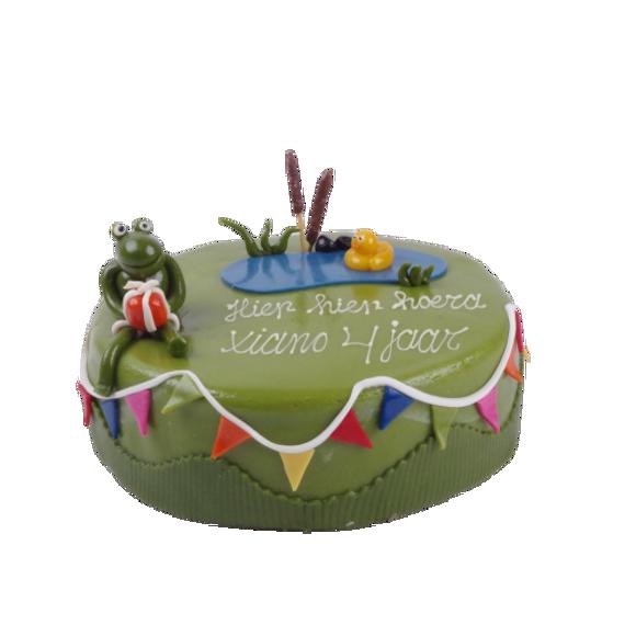 Afbeelding van Kikker & vriendjes taart