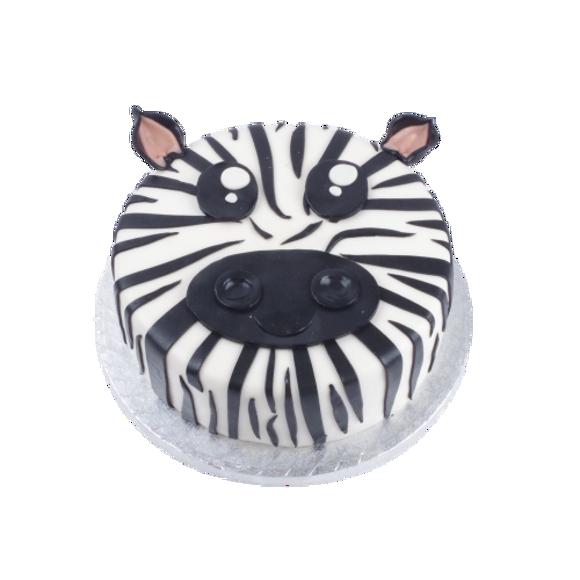 Afbeelding van Zebra taart